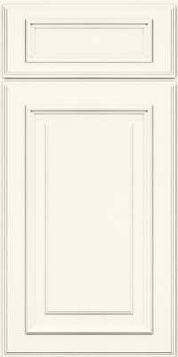 KraftMaid Cabinets -Square Raised Panel - Solid (AA4M) Maple in Dove White from waybuild