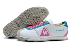 LE COQ SPORTIF SHOES WENDON II TRICOLORE Sneakers Fabric White -Pink