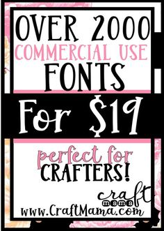 Creative Fabrica is a GOLD MINE for crafters! If you haven't checked this out yet, what are you waiting for? Funny Embroidery, Baby Embroidery, Embroidery Designs, Silhouette Cameo 2, Commercial Use Fonts, Gold Mine, Forever Grateful, Craft Business, Fun Crafts