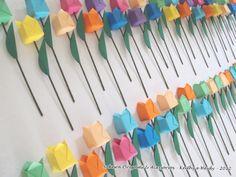 Tulipas e mais tulipas! http://blog.sakuraorigami.com.br/