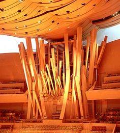 Disney Hall Organ