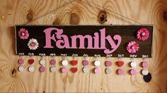 Sweet T's Custom Creations ... Family Birthday Sign