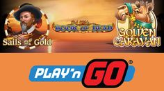 Get ready for an adventure with Play'N Go!  Play now at Casino Cruise, BetVictor Casino and Rizk Casino.  --  #OnlineCasino #Casino #Slots