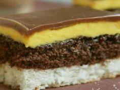 Slovak Recipes, Czech Recipes, Torte Cake, Cake Bars, Baking Recipes, Cookie Recipes, Dessert Recipes, Sweet Desserts, Sweet Recipes