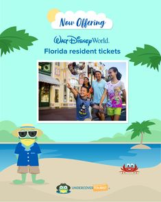 Undercover Tourist is now offering Walt Disney World® Florida resident tickets!