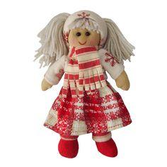 POWELL CRAFT Annalise Christmas Rag Doll 20cm) :-) Poupée de Noel Annelise