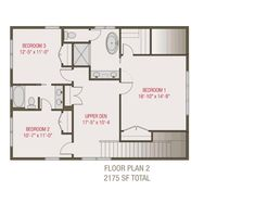 This craftsman design floor plan is 2175 sq ft and has 3 bedrooms and has bathrooms. Compact House, Electrical Plan, Building Section, Building Department, Craftsman Style House Plans, Building Plans, Lighting Design, Floor Plans, Layout