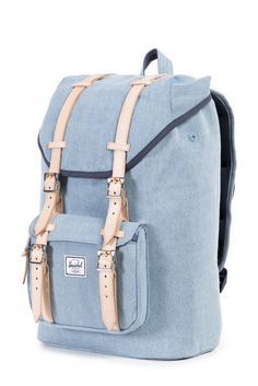 Herschel Supply Co. has outdone themselves with this dreamy backpack. Herschel Supply Co Backpack, Herschel Bag, Herschel Backpack Outfit, Herschel Backpack Little America, Mochila Herschel, Fashion Bags, Fashion Backpack, Cute Backpacks For School, Backpack Purse
