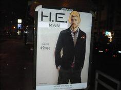 """Heman"" – Mango Adbusting in Cologne"