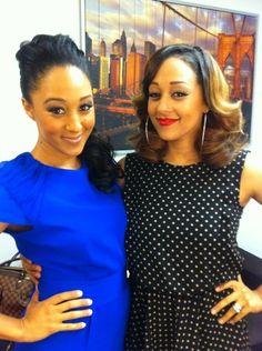 Tia and Tamara Mowry Black Celebrities, Celebs, Beautiful Black Women, Beautiful People, Beautiful Gorgeous, Amazing People, Tia And Tamera Mowry, Celebrity Siblings, Thing 1