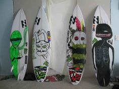 Wade Goodall's boards n art
