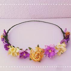 Coronitas de flores. Tocados para bodas. Wedding, floral crown