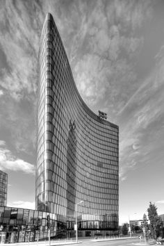 upwards by Martin Schoenbacher on Skyscraper, Multi Story Building, Urban, Skyscrapers