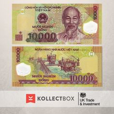 10000 #dong #Vietnam Find out more on www.kollectbox.com #kollectbox #numismatics #banknotes #sellbanknotes #buybanknotes #papermoney #collections #numismática #notas #notafilia