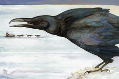 Jackie Morris Crow