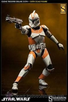 Star Wars: Clone Trooper Deluxe Attack Battalion Sixth Scale Figure * To view further for this item, visit the image link. (This is an affiliate link) Star Wars Figurines, Star Wars Toys, Lego Star Wars, Star Wars Clone Wars, Star Wars Art, Star Trek, Star Wars Pictures, Star Wars Images, Clone Trooper