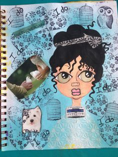 I do art journal page by mzqtz Tanya S