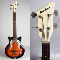 1965 Airline Pocket Bass C-7224, made by Valco.