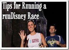 tips for running disney races