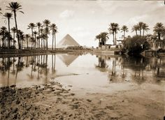 A beautiful picture of Ohermat Giza at the end of the nineteenth century