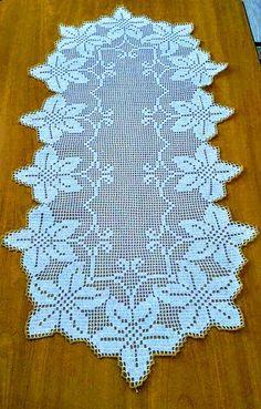 Crochet Cord, Easy Crochet, Crochet Lace, Lace Table Runners, Crochet Table Runner, Fillet Crochet, Crochet Pumpkin, Interior Design Business, Doilies