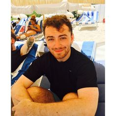 """""""I am completely and utterly in love right now with Miami ❤️❤️"""" - Sam Smith"""