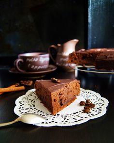 Кулинарные записки лентяйки: Глазированный шоколадный торт от Марты Стюарт