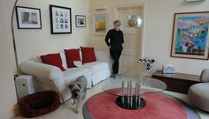 #HouseTour. Alison Connicks lovely wimbldeon home, Kitchen extension, thedecorcafe.com