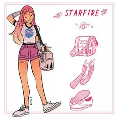Starfire por Picolo
