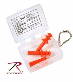 G.I. Type Earplugs - Two Sets by Rothco. $3.99