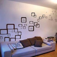 Unique Wall Decals Squares