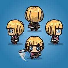 4 Directional Warrior Girl