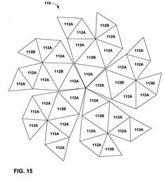 Patent US20050022461 - Constructing geodesic domes with panels