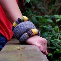 felted bracelet patterns