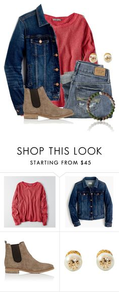 """""""It's actually really cold today in FL☃️"""" by flroasburn on Polyvore featuring American Eagle Outfitters, Abercrombie & Fitch, J.Crew, Barneys New York and Tory Burch"""