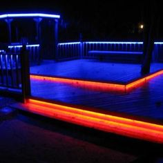 Outdoor Strip Lighting Pleasing Led Outdoor Patio Strip Lightingsuch A Good Look Wwwflexfireleds Inspiration Design