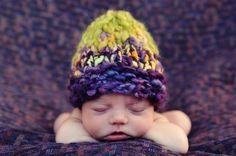 Baby knit beanie