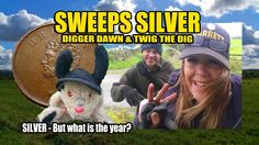 Digger Dawn & Twig the Dig - Sweeps SILVER - But what is the year? Has the Roman coin been won? Metal Detecting, Digger, Twiggy, Dawn, Roman, Baseball Cards, Adventure, Adventure Movies, Adventure Books
