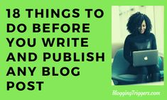 We compiled 18 essential things you should do before you write and publish every blog post. As a result of them, you can expect more exposure and visits to the pages. Meet Friends Online, Sales And Marketing, Online Marketing, Online Grammar Checker, Image Sharing Sites, Security Tips, Life Philosophy, Creating A Business, Social Media Site