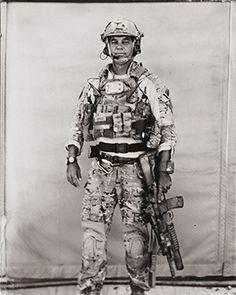 Ed Drew Photography | Afghanistan, Combat Zone Tintype
