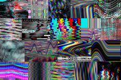 56 Glitch backgrounds By Wittmann