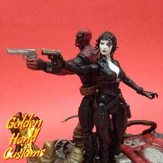 Domino(X-Force) (Marvel Legends) Custom Action Figure