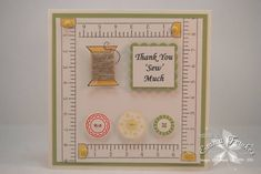 WT304 Thanks Sew Much by Emma F - Cards and Paper Crafts at Splitcoaststampers