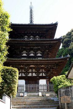 Taima-dera Nishi-to #japan #nara