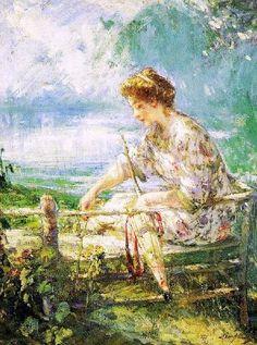 Lillian Mathilde Genth - Artist, Fine Art Prices, Auction Records ...
