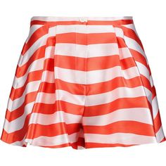 striped fitted shorts - Pink & Purple Vivetta dbg7FPEVt