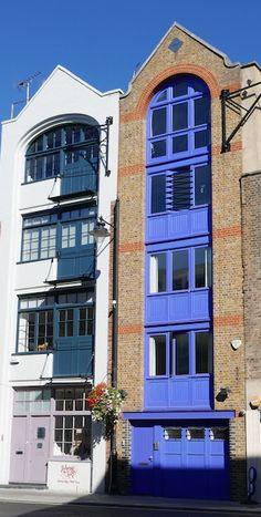 Bermondsey Street, London SE1, Southwark, Warehouse Buildings Bermondsey London, Bermondsey Street, London Docklands, South London, Old London, London Neighborhoods, London Lifestyle, New Architecture, Things To Do In London