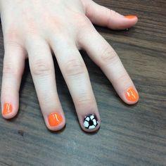Soccer nails by Shannon Medina