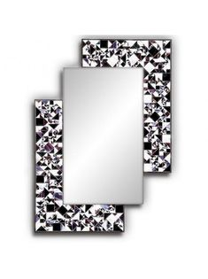 Kaleidoscope Violet Contemporary Mirrors ♥♥ http://piaggi.co.uk/store