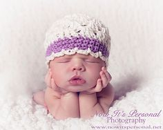 Crochet Baby Hat PATTERN Shell Stitch Beanie Crochet PDF 148 - Newborn to Adult - Permission To Sell Finished Items - Photography Prop. $3.99, via Etsy.